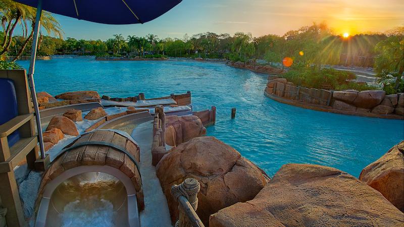 Parque Typhoon Lagoon da Disney Orlando: Bay Slides