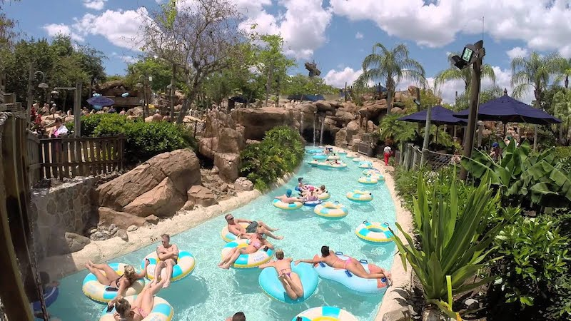 Parque Typhoon Lagoon da Disney Orlando: Castaray Creek