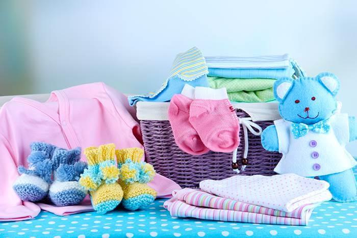 Enxoval do bebê em Orlando: roupas