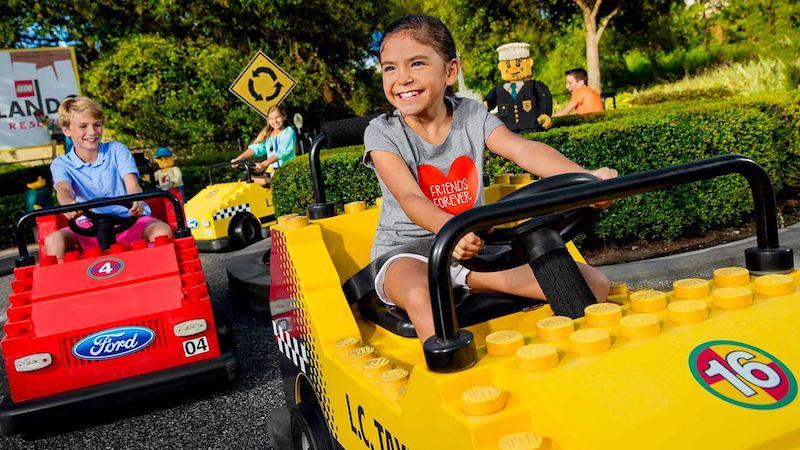 Área LEGO City no parque Legoland Florida