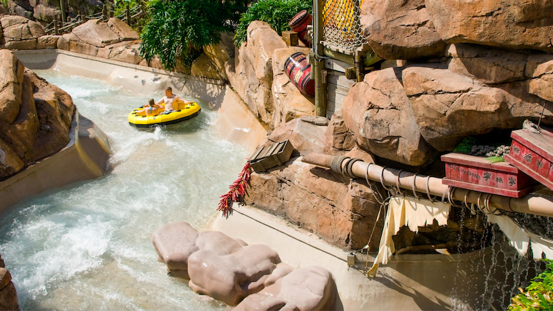 Parque Typhoon Lagoon da Disney Orlando: Gangplank Falls