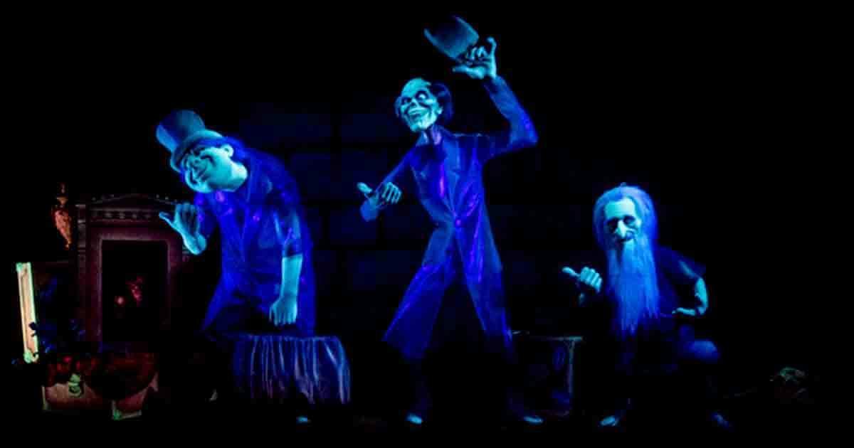 Haunted Mansion no parque Magic Kingdom da Disney Orlando