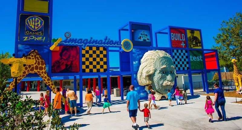Imagination Zone no parque Legoland Florida