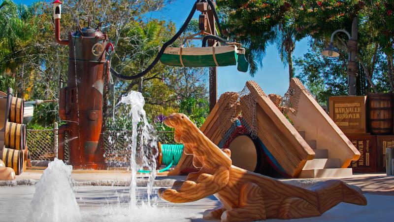 Parque Typhoon Lagoon da Disney Orlando: Ketchakiddee Creek