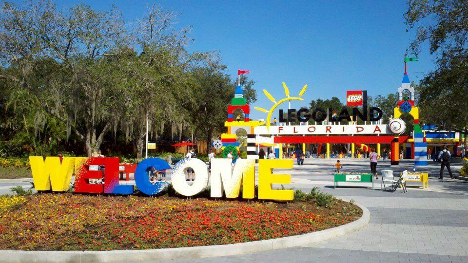 Parque Legoland da LEGO em Orlando