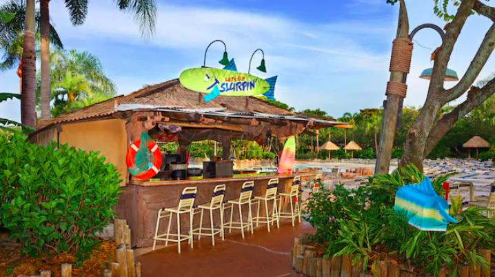 Parque Typhoon Lagoon da Disney Orlando: Let's Go Slurpin'