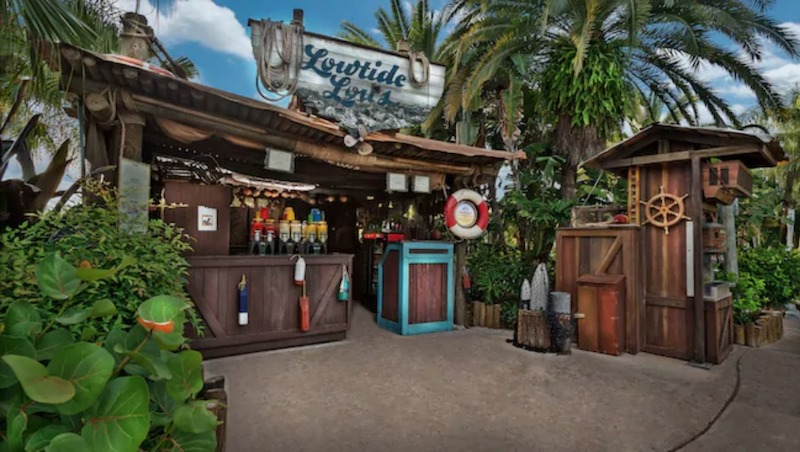 Parque Typhoon Lagoon da Disney Orlando: Lowtide Lou's