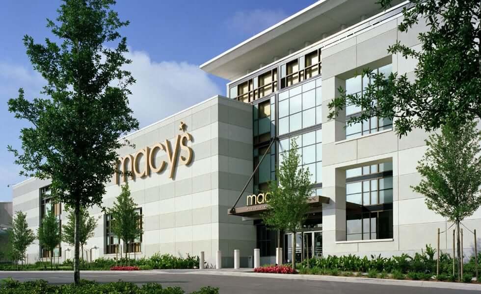 Lojas de departamento em Orlando: Macy's