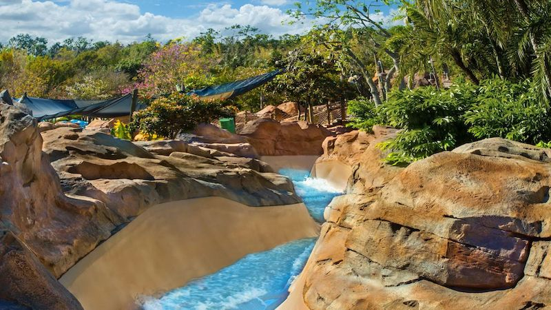 Parque Typhoon Lagoon da Disney Orlando: Mayday Falls
