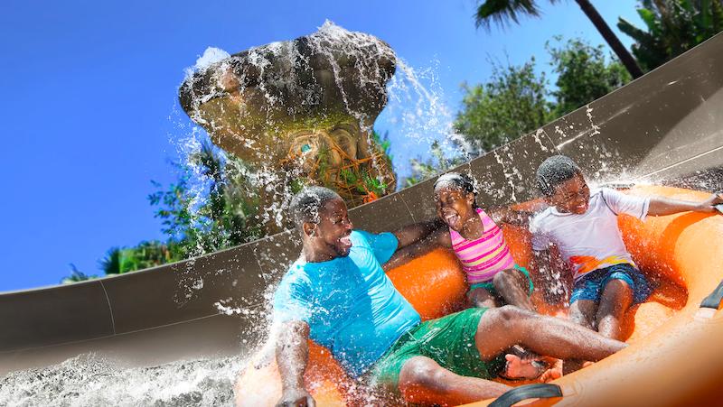 Parque Typhoon Lagoon da Disney Orlando: Miss Adventure Falls