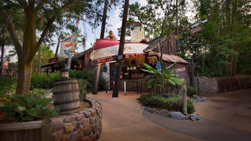 Parque Typhoon Lagoon da Disney Orlando: Snack Shack