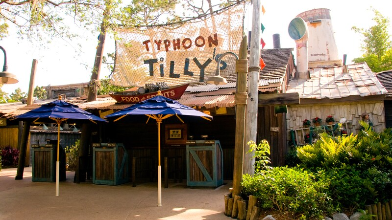Parque Typhoon Lagoon da Disney Orlando: Typhoon Tilly's