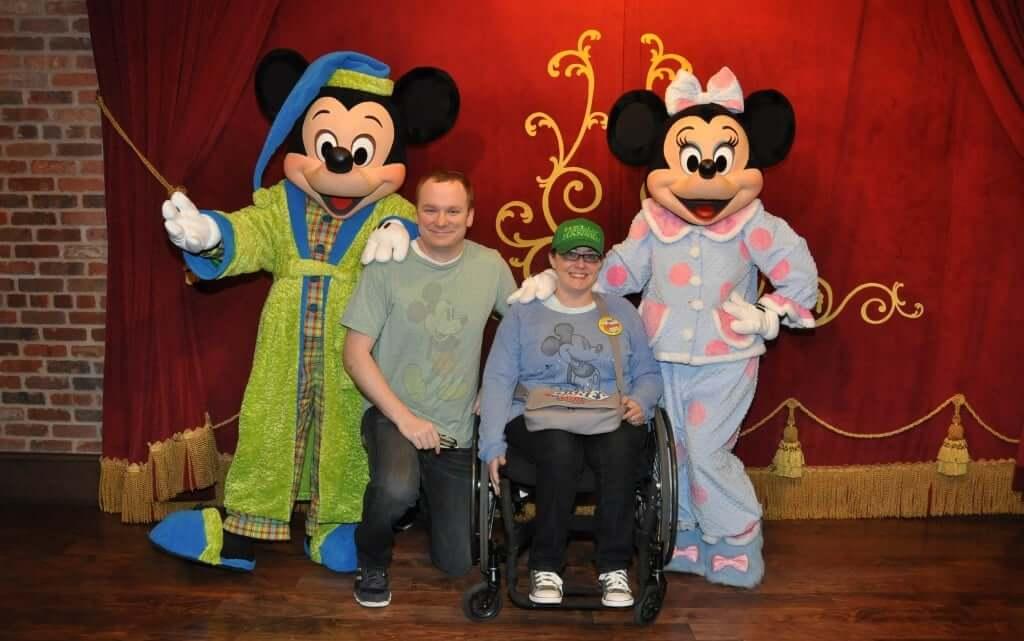 Disability Access Service Card da Disney Orlando: personagens Disney