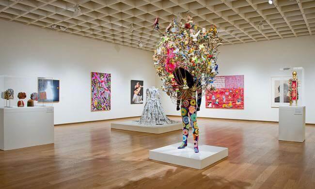 Museu de Arte de Orlando: obras de arte