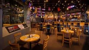 7 atrações noturnas no Walt Disney World Orlando: ESPN Club