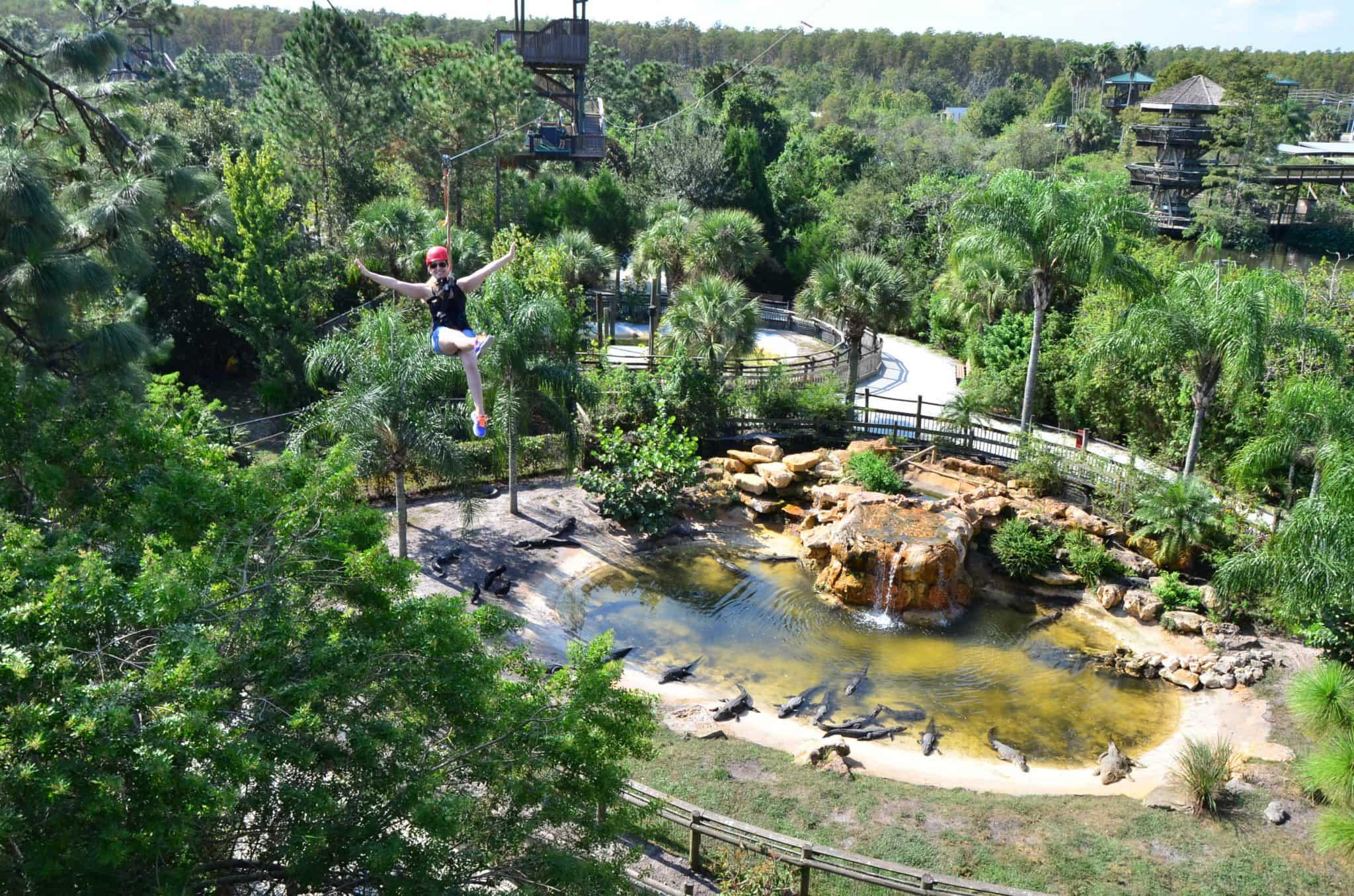 Pontos turísticos em Kissimmee: Gatorland