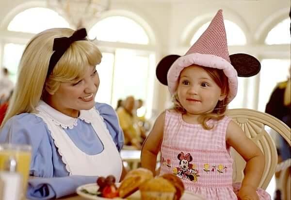 Restaurante 1900 Park Fare da Disney Orlando: personagem