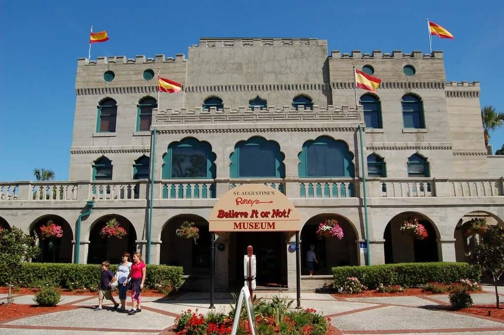 Museus em Saint Augustine na Flórida: Museu Ripley's Believe It or Not