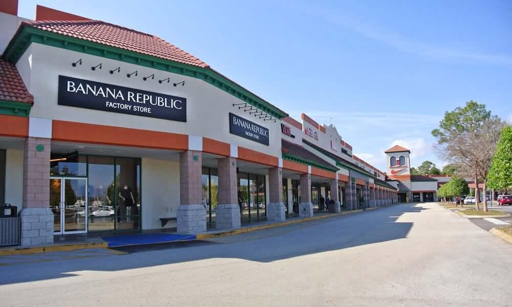 Outlet Premium St. Augustine na Flórida: lojas no Prime Outlets
