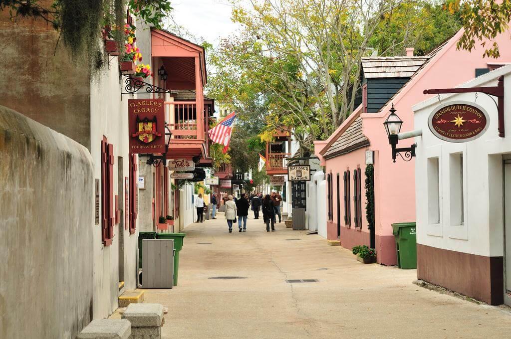 Museus em Saint Augustine na Flórida: Museu Colonial Quarter
