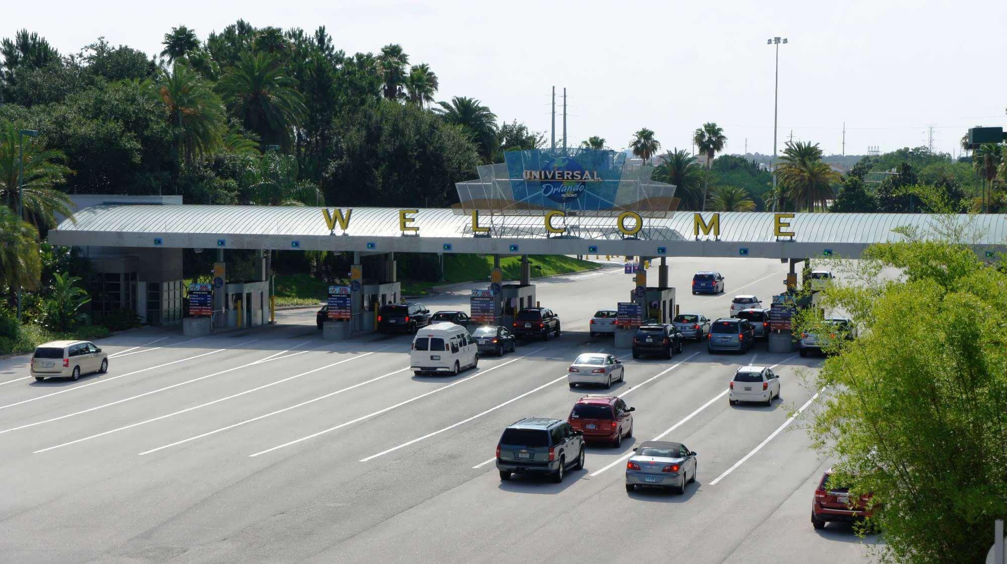 Estacionamento da Universal Orlando
