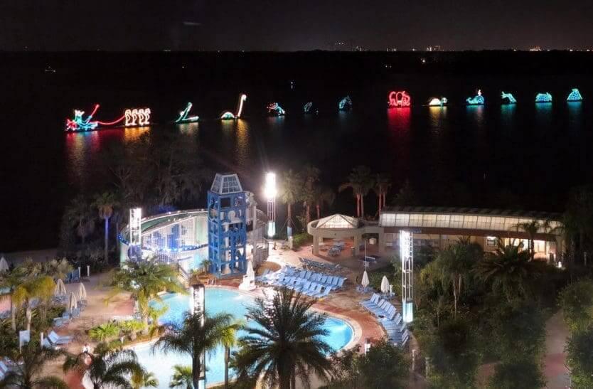 Coisas para fazer de graça na Disney Orlando: parada Electrical Water Pageant