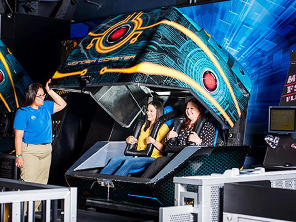 Museu WonderWorks em Orlando: WonderCoasters