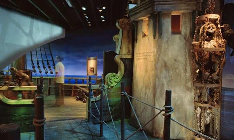 Museus em Saint Augustine na Flórida: Pirate & Treasure Museum