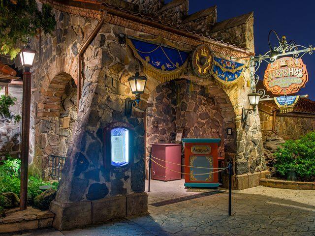 Restaurante Akershus Royal Banquet Hall Disney em Orlando