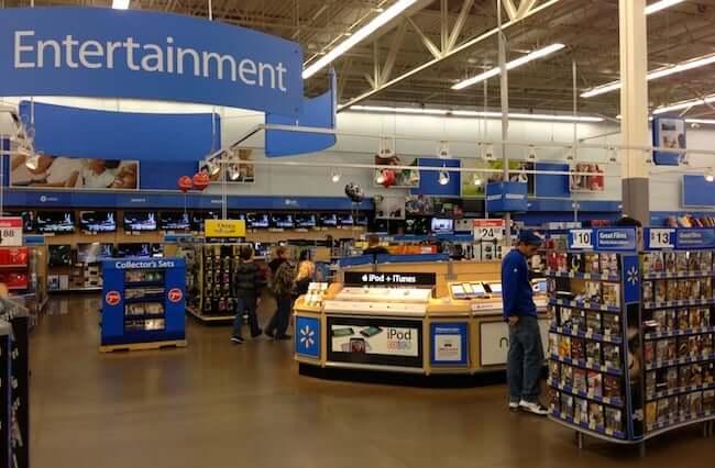 Walmart em Orlando: eletrônicos