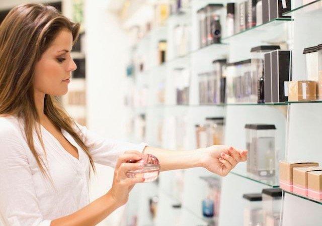 Comprando perfumes em Orlando