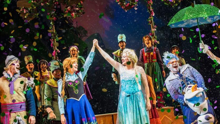 Cruzeiro Disney Wonder: Frozen - A Musical Spectacular