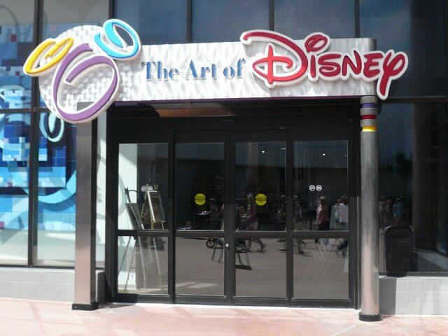 The Art of Disney no parque Epcot em Orlando