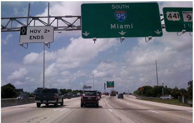 Viagem de carro de Orlando a Miami (e de Miami a Orlando) 1