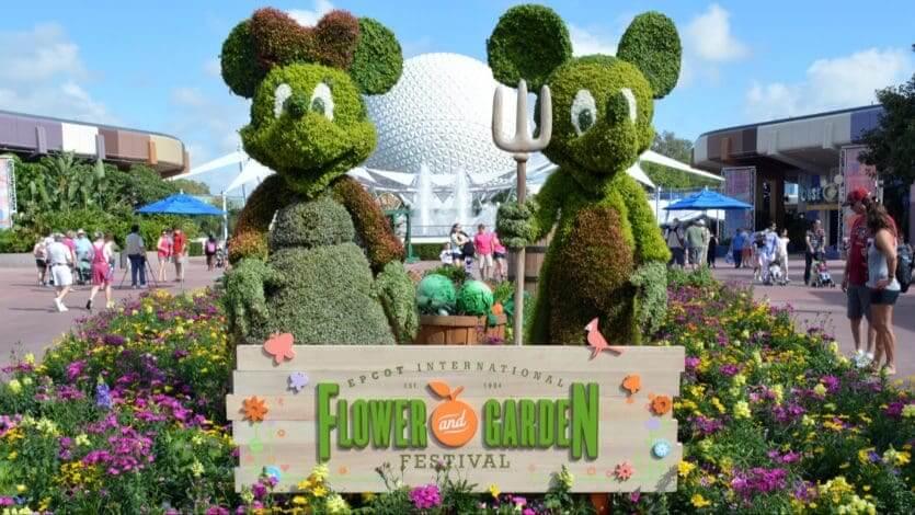 Orlando e Disney no mês de março: Flower and Garden Festival no Disney Epcot