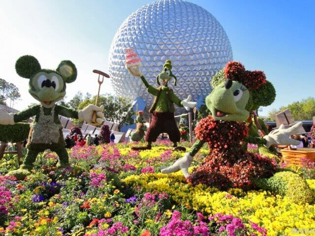 Disney e Orlando no mês de março: Flower and Garden Festival