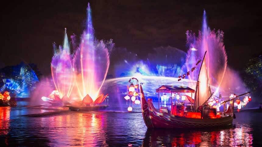Novidades na Disney e Orlando em 2016: Rivers of Light