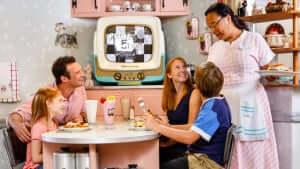 Como reservar os restaurantes da Disney Orlando: 50's Prime Time Cafe