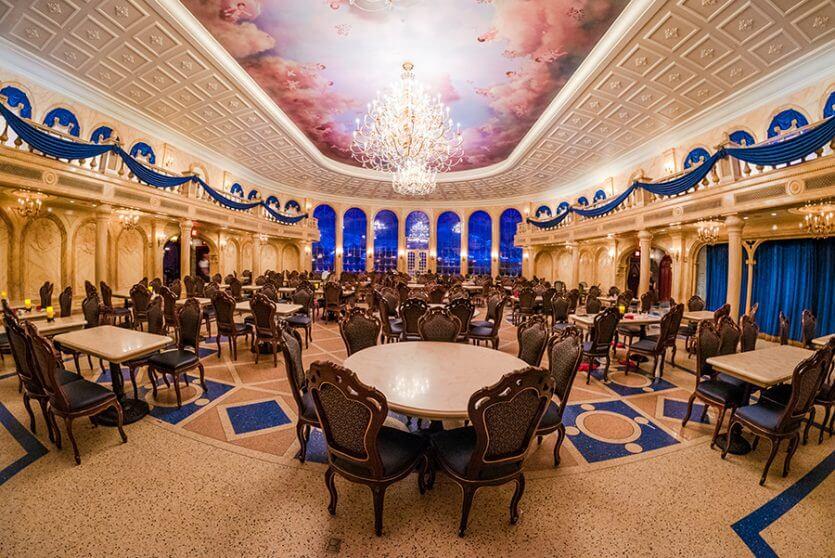 Restaurantes românticos em Orlando: Be Our Guest Restaurant