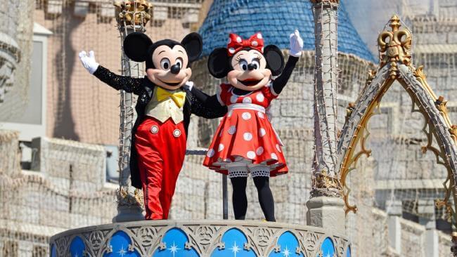 Mickey e Minnie na Disney Orlando