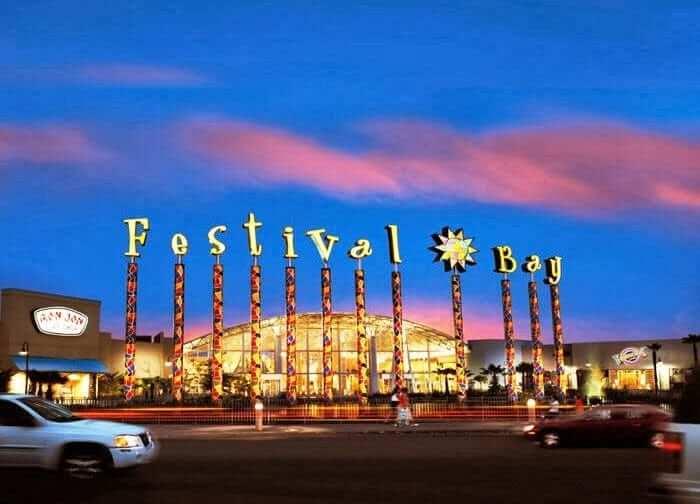 Shopping Festival Bay Mall em Orlando 4