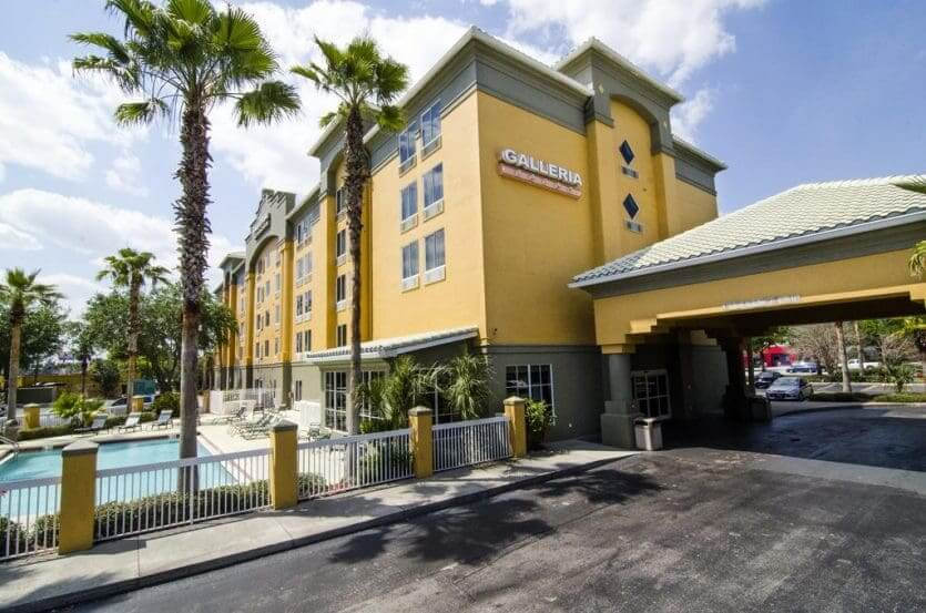 7 hotéis econômicos em Orlando: Galleria Palms Hotel