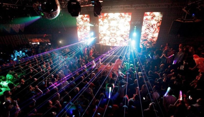 Balada Gilt Nightclub em Orlando por dentro