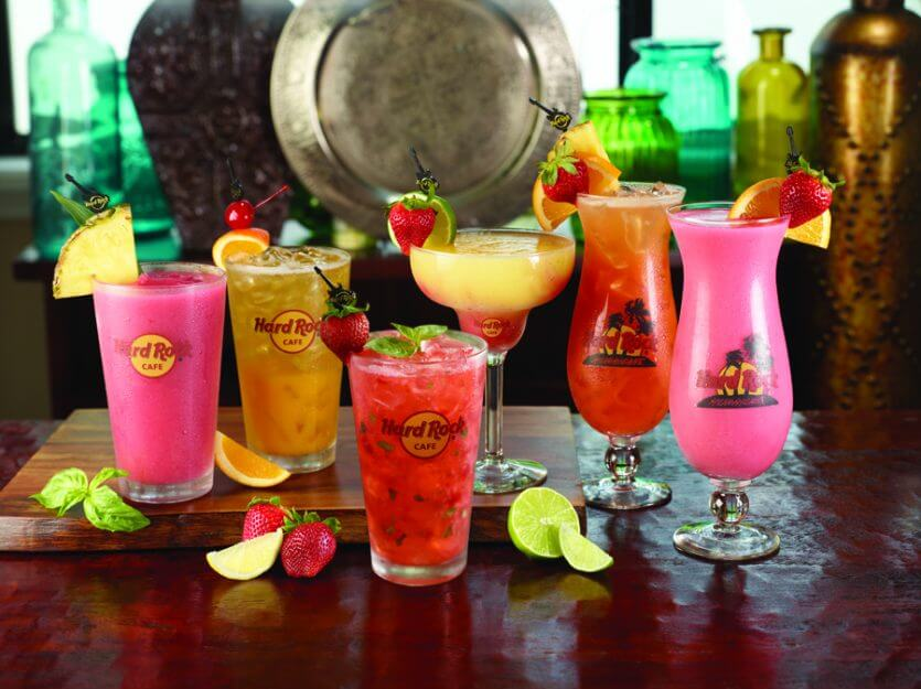 Restaurante Hard Rock Cafe em Orlando: drinks