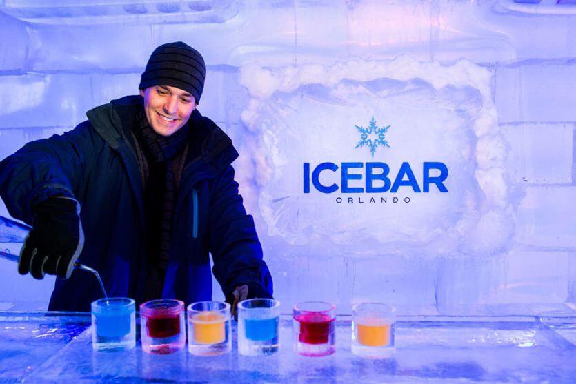 7 melhores cafés e bares de Orlando: Bar de gelo IceBar