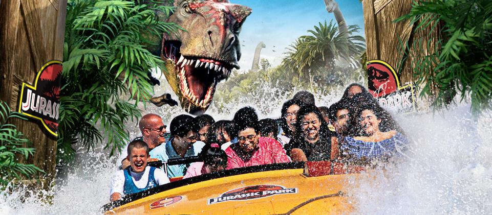 Parque Islands of Adventure Orlando: Jurassic Park