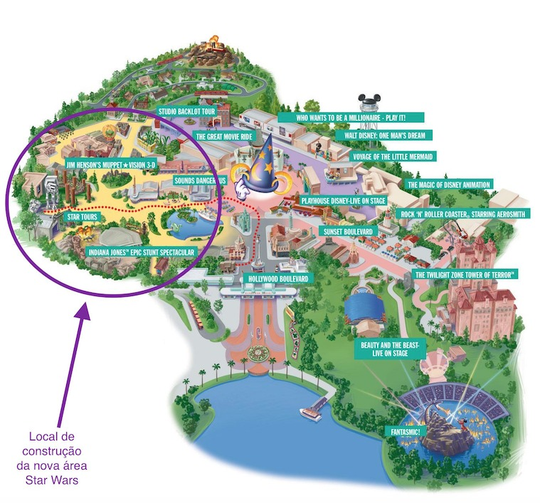 Star Wars na Disney Orlando:Star Wars Land