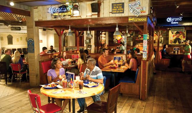 Restaurante Bubba Gump em Orlando