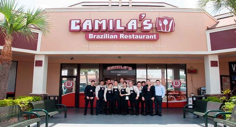 Restaurante brasileiro Camila's em Orlando