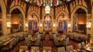 Restaurantes românticos em Orlando: Cinderella's Royal Table